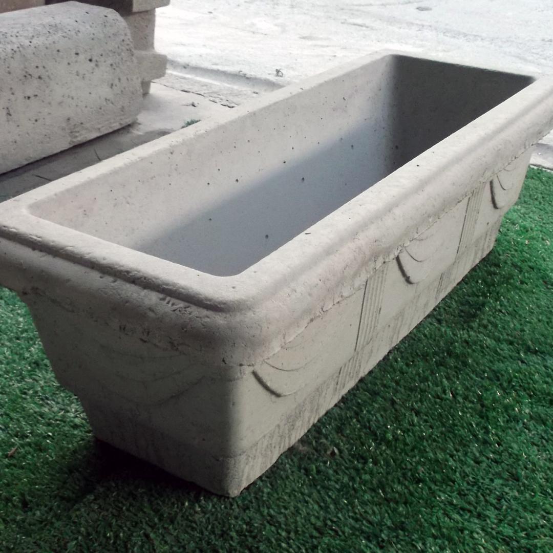 Floreira de concreto