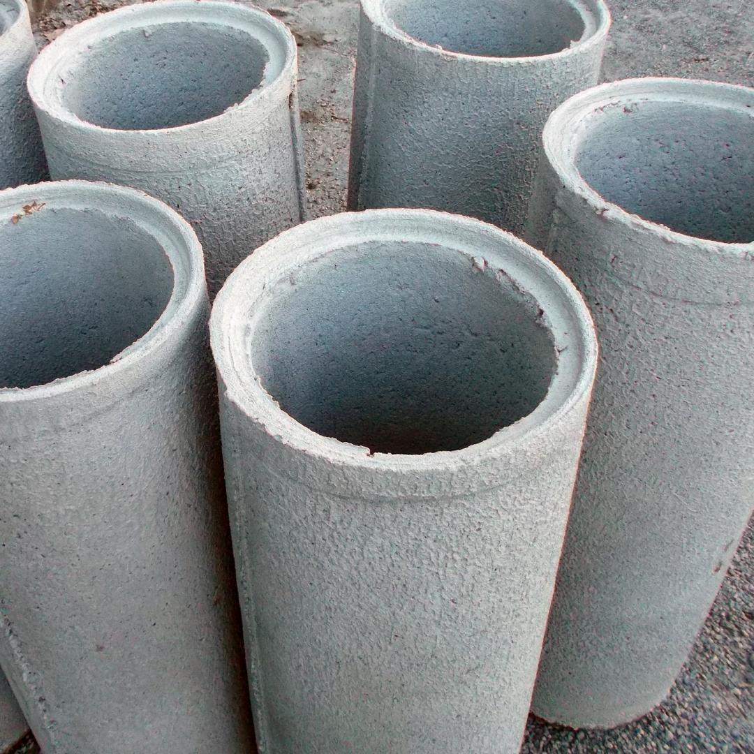 Tubos de concreto de 0,20x1,00mt